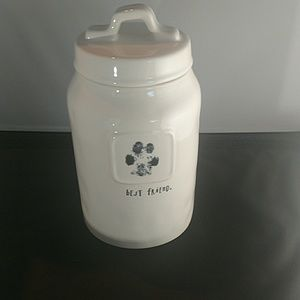 "Rae Dunn ""Best Friend"" Treat Canister"